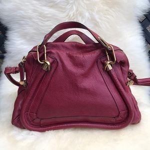 Chloe Paraty Top Handle Leather Bag